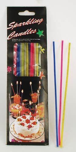Sparkler Birthday Candles