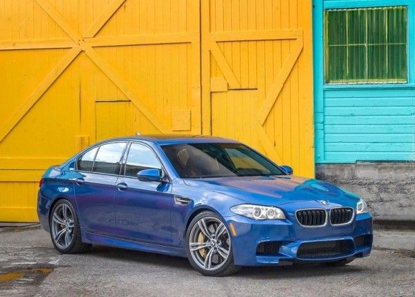 2014 BMW M5 Blue Colors 600x429 2014 BMW M5 Review and Design Detail with Images