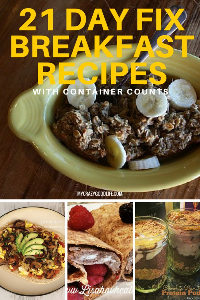 It's overwhelming to create 21 Day Fix recipes by yourself, I know! Here are some 21 Day Fix breakfast recipe ideas for you!