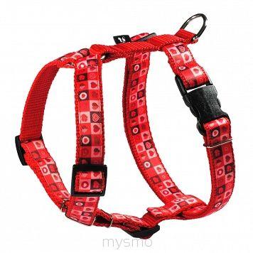 Szelki dla psa SERDUSZKA, HEARTS, szelki typu guard, regulowane szelki dla psów MYSMO  #szelkidlapsa #szelki #dlapsa