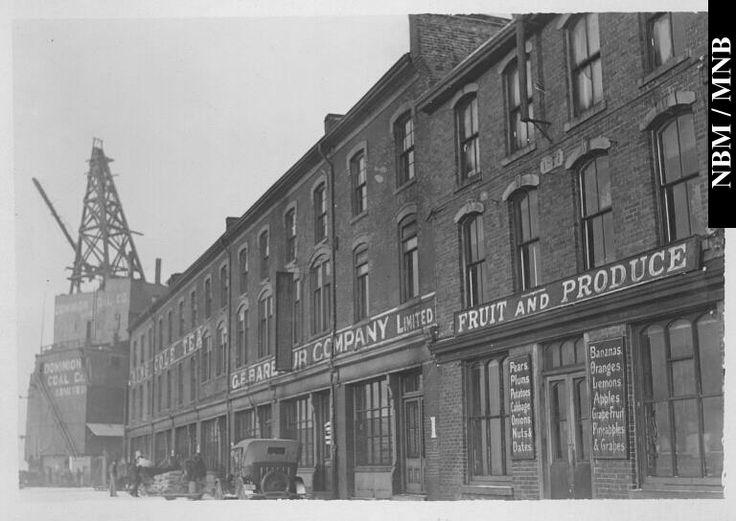 Buildings, King Cole Tea, Fruit and Produce, G.E. Barbour Company Limited, North Wharf, Market Slip, Saint John, New Brunswick
