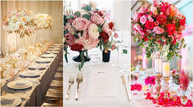 WEDDING TABLE DECORATION | KULIKOVA EVENT AGENCY
