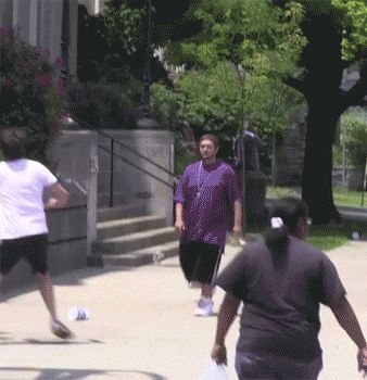 Baseball Catch Prank.gif  that's so mean. And funny