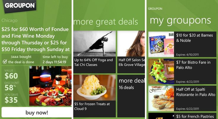 Groupon Data Scraping, Scrape Data from Groupon, Daily Deals Websites