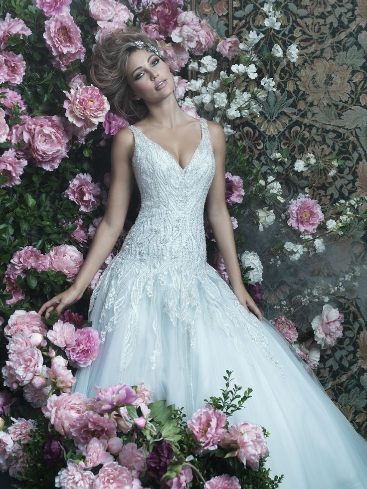 Trendy The Allure Couture Collection can be found at Bellevue Bridal Boutique Dolce Bleu Pearls