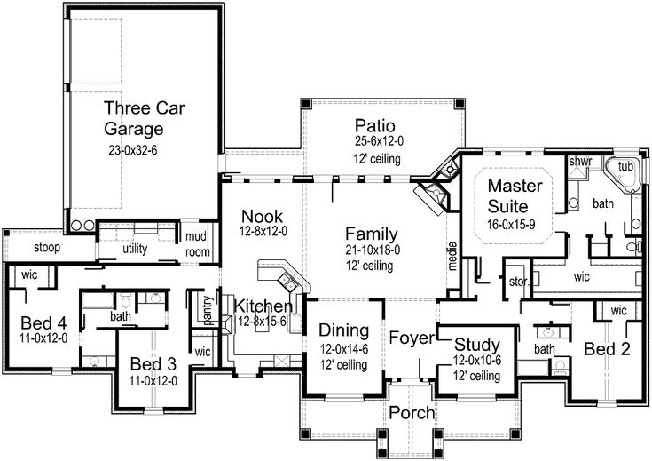 250 best images about houses on pinterest 3 car garage for House plans by korel home designs