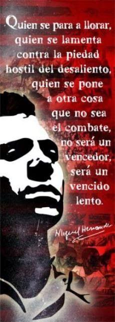 Y UNA TIZA AL CIELO: MIGUEL HERNÁNDEZ...72 AÑOS ..DE SU MUERTE