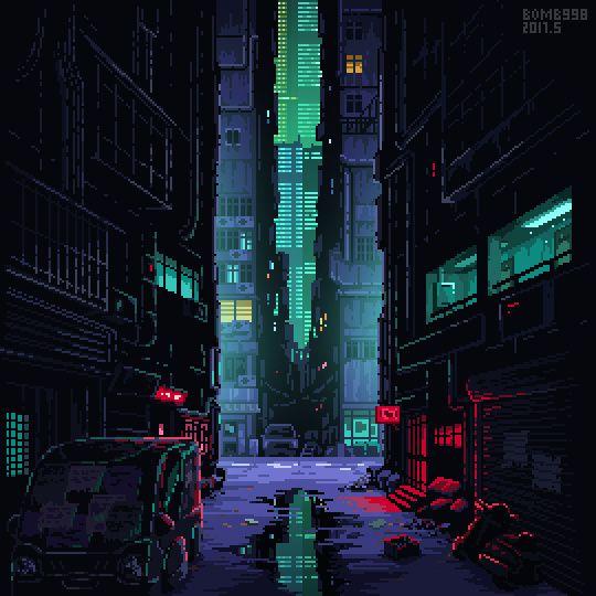 DHZq-eDUIAAllHu.jpg:large (540×960) | Cyberpunk kunst