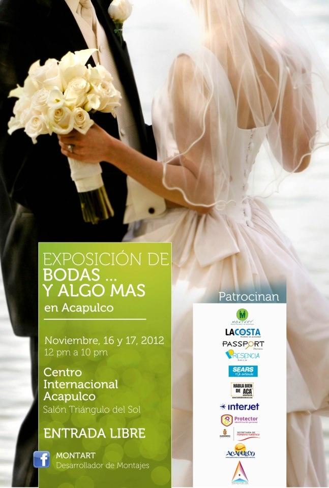 Cop@News informa:  Copacabanos les recordamos que HOY inicia la Expo Bodas en el Centro Internal. Acapulco y Hotel COPACABANA presente en los mejores evento... allá nos vemos!!