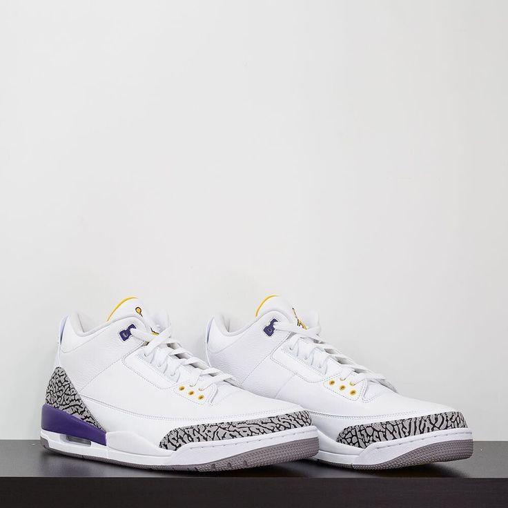 Air Jordan IIIs gifted to Kobe Bryant. #complexkicks by complexsneakers