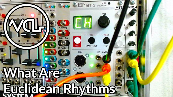 What Are Euclidean Rhythms? - Voltage Control Lab  ||  What do African rhythms, nuclear physics, string theory and an ancient algorithm described by Euclid have in common? https://www.voltagecontrollab.com/2015/11/20/what-are-euclidean-rhythms/?utm_campaign=crowdfire&utm_content=crowdfire&utm_medium=social&utm_source=pinterest