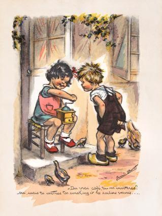 - Du vrai café, tu m'inviteras ?  - Oui, mais tu mettras ton smoking et les souliers vernis...