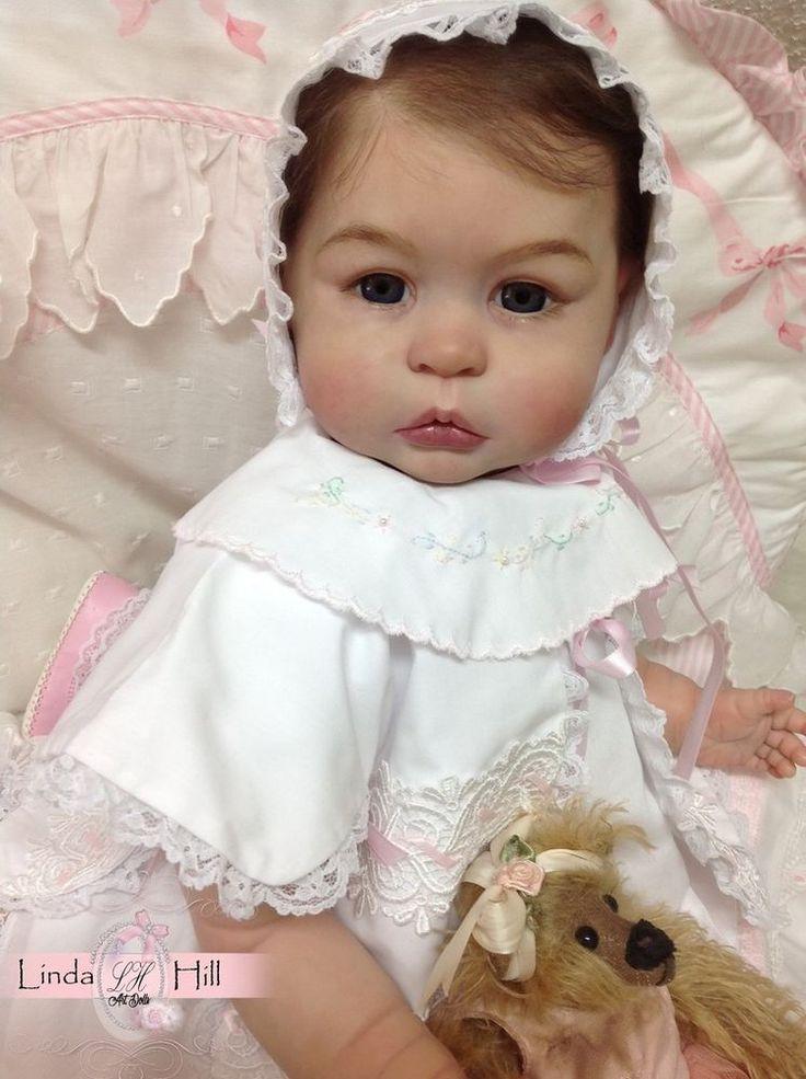 Reborn doll Prototype Princess Charlotte  baby girl toddler  Linda Hill, IIORA