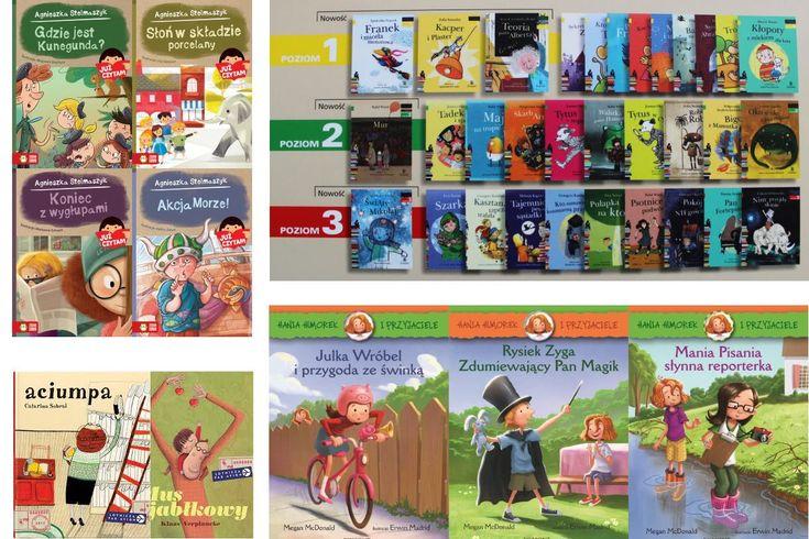 """""""Już czytam"""", więc """"czytam sobie"""" –  czyli kilka słów o książkach dla dzieci, które zaczynają samodzielnie czytać"""