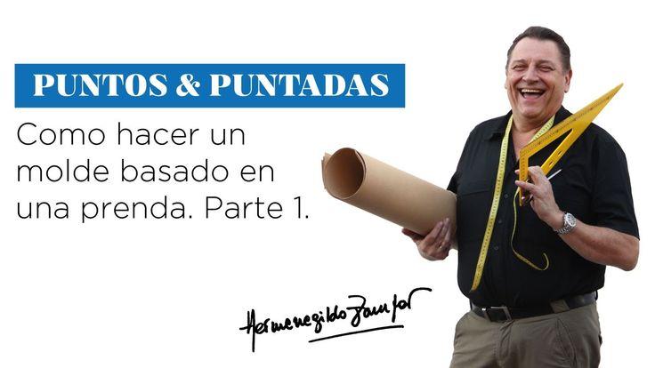 Hermenegildo Zampar - Puntos y Puntadas 23 - Como hacer un molde basado ...