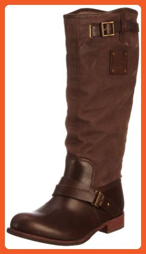 Ladies Caterpillar Casual Boots Corrine - Coffee/Dark Brown Leather - UK Size 3 - EU Size 36 - US Size 5 - Boots for women (*Amazon Partner-Link)