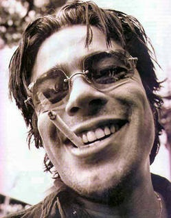 Benicio Del Toro. I had this picture up on my wall for idk how long...