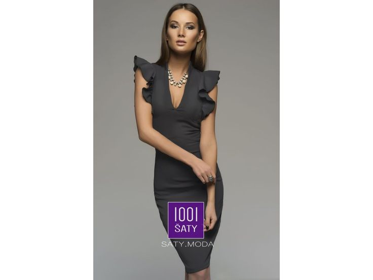 společenské pouzdrové šaty TessaGray