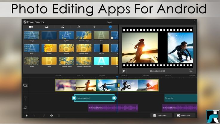 Top 10 Best Photo Editing Apps For Android - 2017
