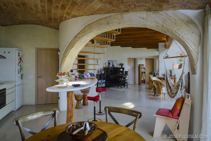 Comedor #Cocina #Escalera #mediterraneo #decoracion via ...