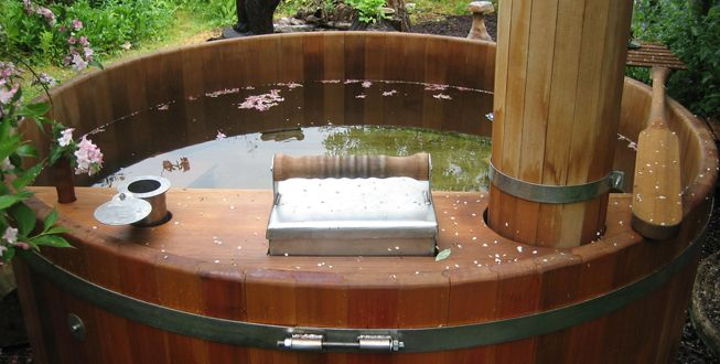 30 best images about hot tub on pinterest homemade for Wood burning spa