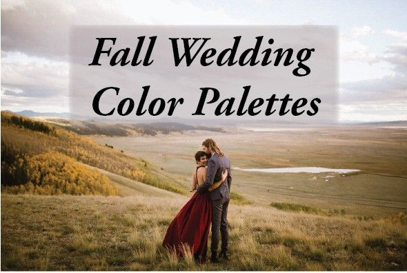 Because you should be able to branch out your fall wedding colors to more than just red, orange, and brown