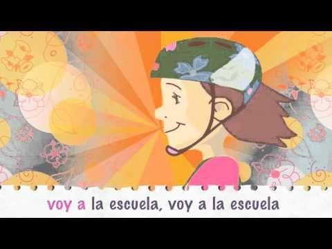 Un día de escuela. Learn the Spanish daily routines through videos and songs - YouTube