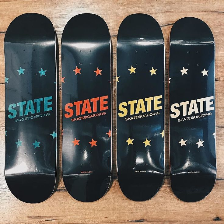 STATE X Black Stars Editions | Disponible la nueva colección de tablas directas para destrozar las calles  | Assembled @einaskateco  100% USA Quality San Diego (CA) | Featured models: State Barcelona Stars Deck 8.0 8.125 8.25 & 8.50. #supportyourlocals #statebcn #STATE