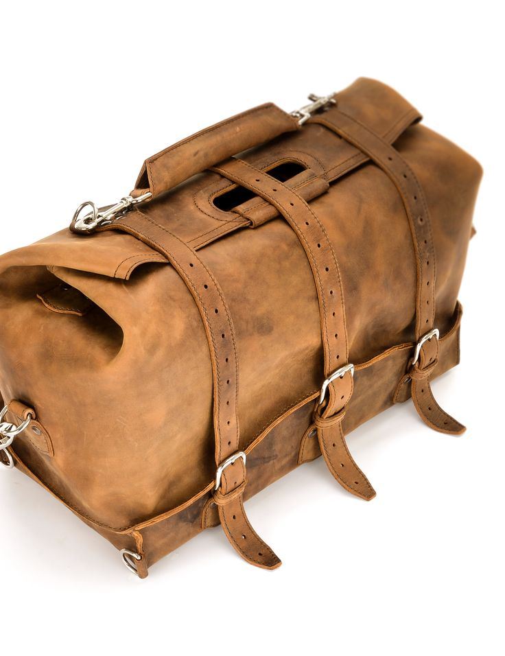 The Saddleback Leather Waterbag in Tobacco | 100 Year Warranty | $710.00