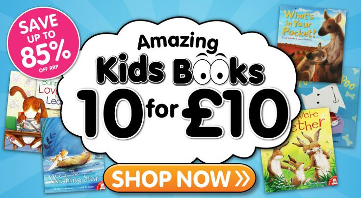 Kids Books 10 for £10 - Shop Now