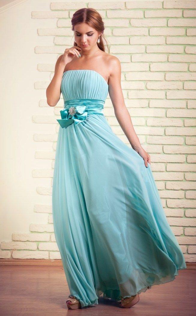 Вечернее платье купить   Вечерние платья мятного цвета