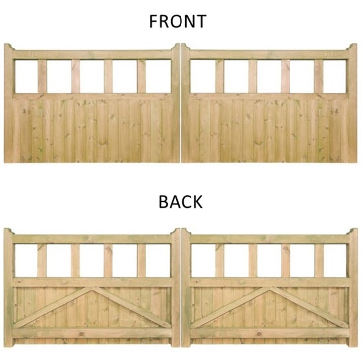 The 25 best front gates ideas on pinterest house fence for Wood driveway gate plans