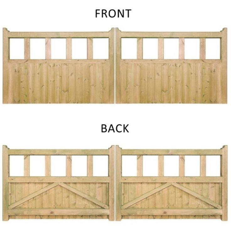 Wooden Tree Gate Design: 25+ Best Ideas About Wooden Driveway Gates On Pinterest