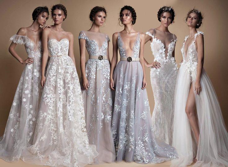 Coleção de vestidos de noiva Muse by Berta 2018