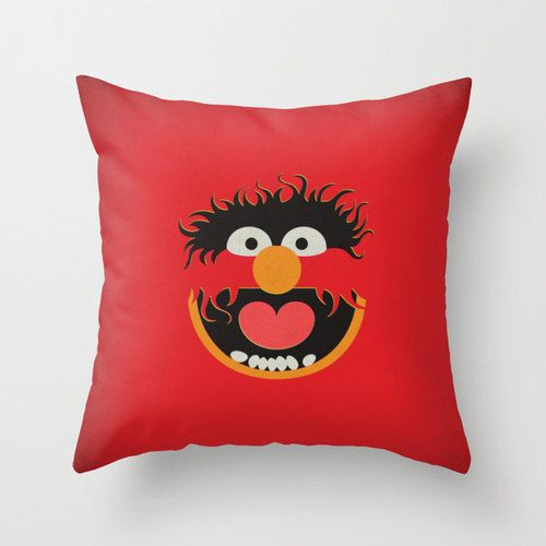 Just love. (Like big time.) :: The Muppet Show Animal Minimalist Pillow Cushion by TheRetroInc