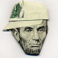 @Emilie I see your dollar bill shirt and raise you a sk8r Lincoln ;-)  http://boingboing.net/2011/01/10/how-to-make-a-b-boy.html