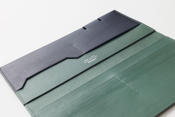 Slide Collection is a minimalist design created by Japan-based designer Nendo. Hiroan, in Tokyo's Asakusa district, is one of Japan's oldest small leather goods workshops, with origins dating back to 1906. (17)