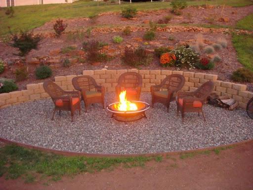 48 Best Fire Pit Images On Pinterest Backyard Patio