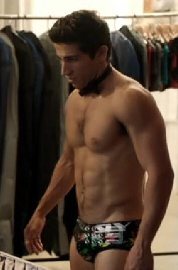 Firass Dirani as Justin, on the Australian drama House Husbands.