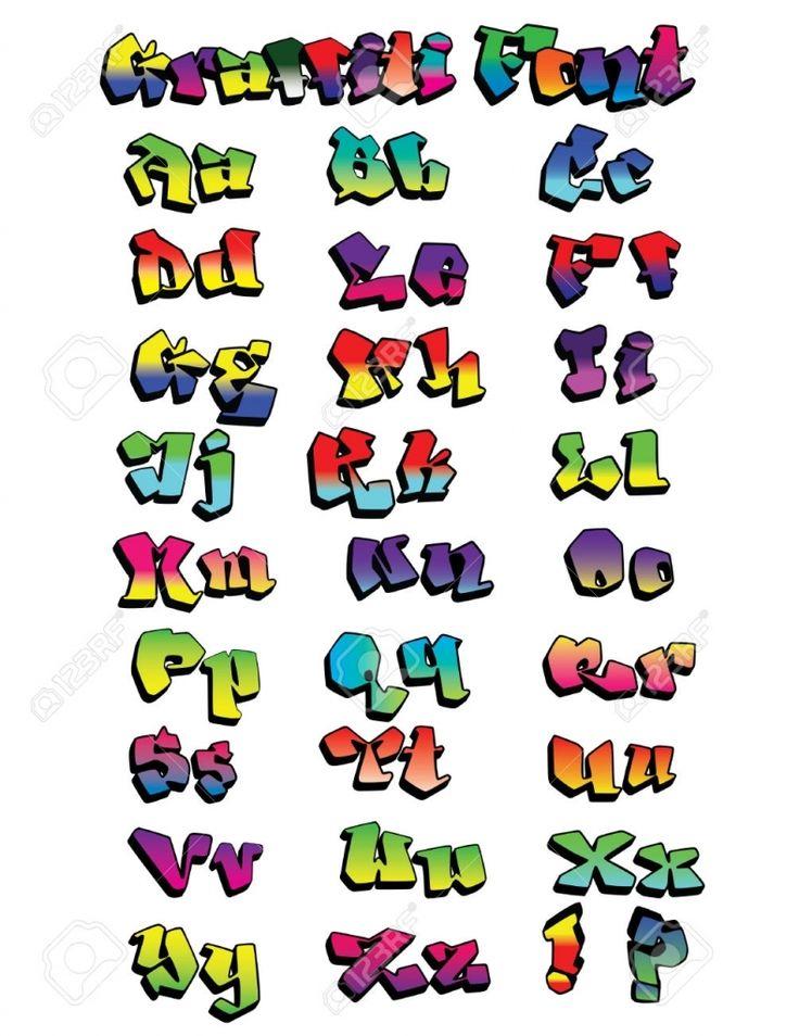 Colorful Graffiti Font Graffiti Font Images Amp Stock Pictures Royalty Free Graffiti Font