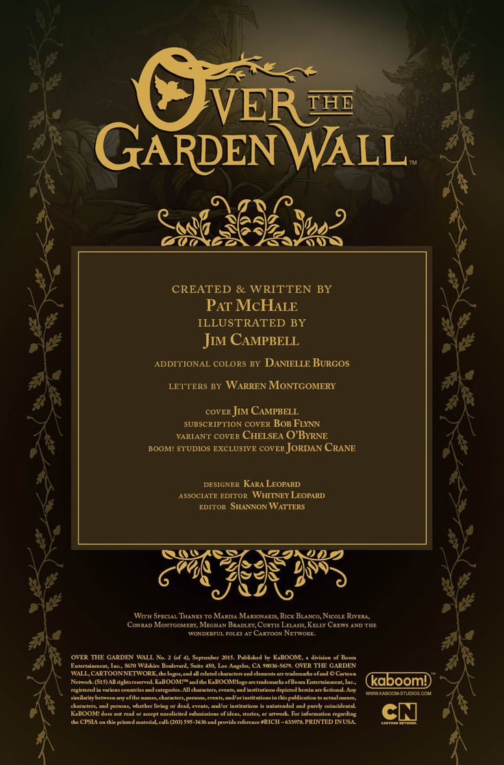 16 best Cover Over the Garden Wall images on Pinterest | Over the ...