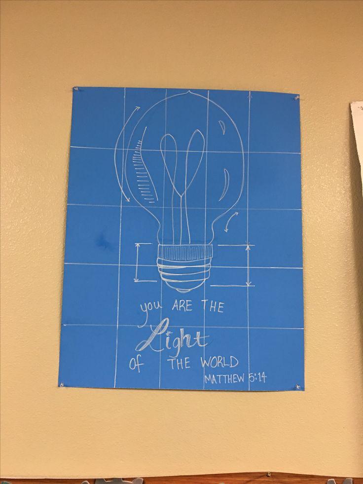 engineer print light of the world matthew 514 verse vbs maker