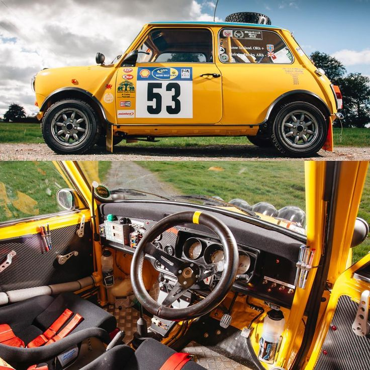 "1,903 Likes, 10 Comments - Classic Car Chasers (@classiccarchasers) on Instagram: ""Little Car, Big heart ❤️ _____________________________________________  1995 Mini Cooper Safari…"""