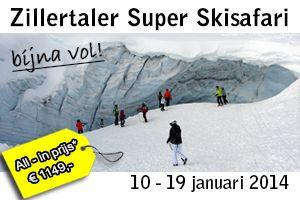 Skivakantie met groepsreis in het Zillertal