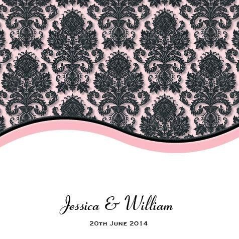 Buy Wedding Invitations Online Cheap Australia at >> https://track.commissionfactory.com.au/t/13285/14003/damask-charm-square-invitation-and-pocket-in-pink.html Damask Charm Square Invitation and Pocket in Pink - Wedding Invitations