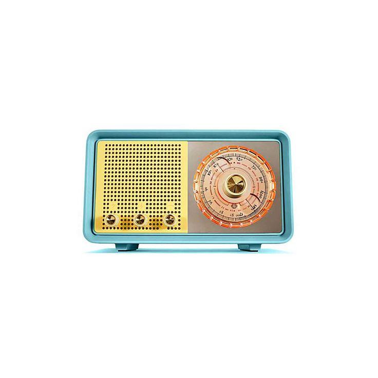 50's mono radio replica with Bluetooth speaker function.