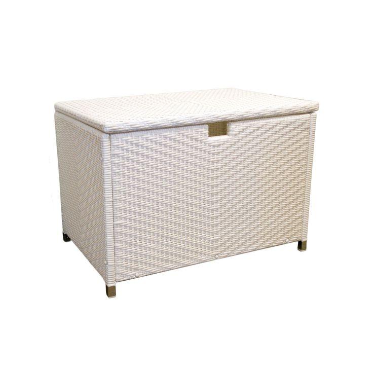 Tortuga Outdoor Wicker Medium Storage Box