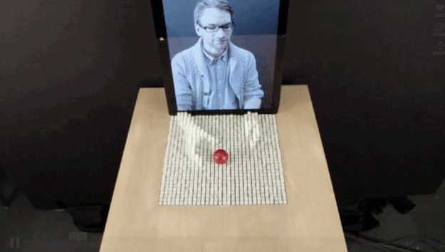 This Unreal MIT Invention Allows You To Reach Through The Screen And Touch Things