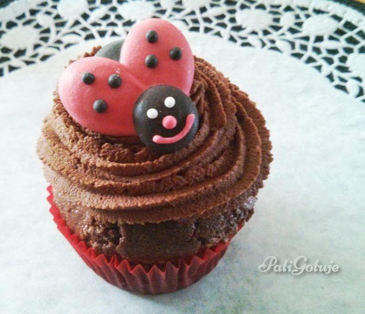 Cupcakes mocno czekoladowe / Really chocolate cupcakes