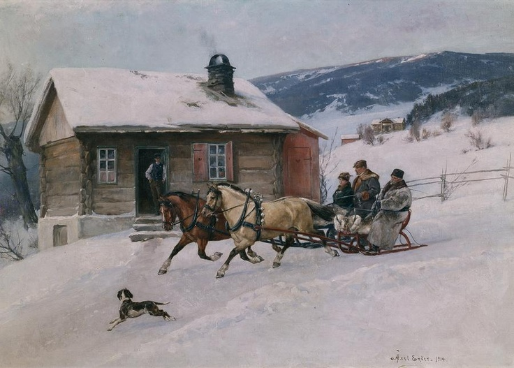 A Polar Bear's Tale: Axel Hjalmar Ender (1853-1920)